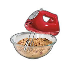 Hamilton Beach Ensemble Hand Mixer with Snap On Case, Beaters, and Dough Hook