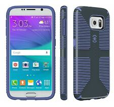 Speck Candyshell Grip Case Samsung Galaxy S6 Charcoal Grey Wisteria Purple