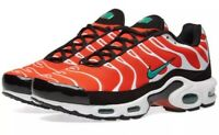 Nike Tns black and white orange and white new tn Air