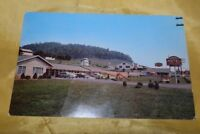Vintage Chrome Post Card-Sunset Motel & Restaurant-Bristol, Tn