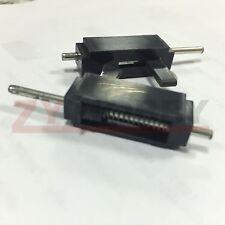 2PCS Canopy Hatch Lock Latch Black L26 X W9 X H9 mm RC MODLE KIT