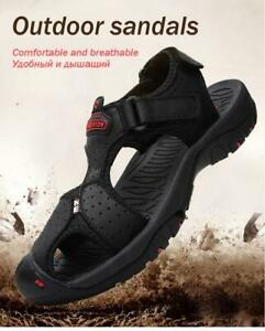 New Mens Summer Breathable Sandals Outdoor Beach Shoes Casual Hiking Closed-toe