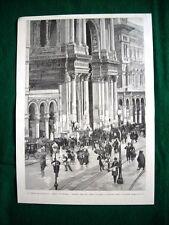Elezioni amministrative Milano 1895, Arco della Galleria + Ermete Zacconi