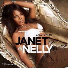 JANET JACKSON Nelly Call On me RARE REMIX UK CD Single SEALED USA SELLER 2006