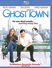 Ghost Town ~ Brand NEW Blu-ray ~ Ricky Gervais Tea Leoni Greg Kinnear