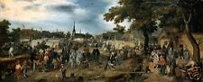 Horse Fair by Adriaen van de Venne, Old Masters Print