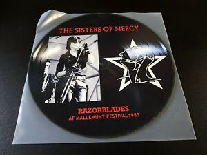 the Sisters Of Mercy - razorblades -  lp' - pic.disc