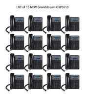 LOT of  15 New Grandstream GXP1610 & Grandstream UCM6202 IP PBX Bundle