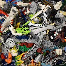 LEGO 1/4lb BIONICLE/HERO FACTORY Pieces-SANITIZED-Bulk Pound Lot Brick Part Rand