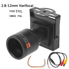 700TVL 2.8-12mm Lens Mini CCTV Camera For Security Surveillance Car Overtaking