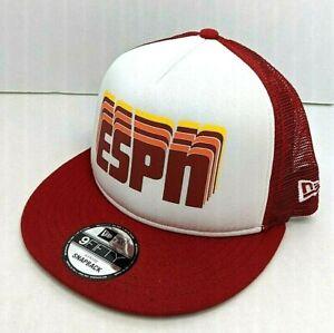 ESPN Retro Mesh Baseball Cap One Size Snapback New Era Disney Products Adult AF
