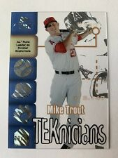 2014 TOPPS HIGH TEK Mike Trout #'d 39/50  1999 TEKNICIANS DIFFRACTOR #99T-MT SSP