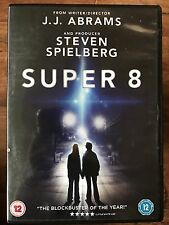 "Super 8 DVD 2011 J.J. Abrams Retro ""Stranger Things"" Style Alien Sci-Fi Movie"