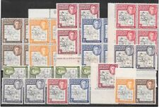 Falkland Islands Dependencies 1946/48 KGVI selection of thin & thick ptgs