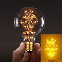 LED Bulb 5W E27 G80 G95 Edison Retro Vintage Filament Light Lamps AC 85-265V AU