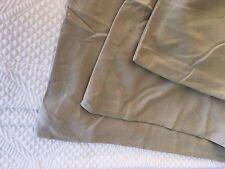 Full Beige Khaki Organic Duvet Comforter Cover Jersey Knit Cotton Company Store