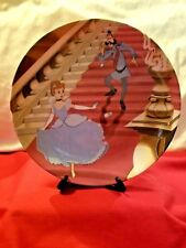 At The Stroke Of Midnight Cinderella Plate #19760-A Walt Disney 1990