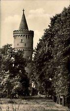 Friedland in Meclemburgo DDR cartolina 1957 partita sul mare, torre fangelturm