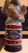"""Vintage """"President Ford 76"""" Campaign Banner and Elephant Decanter"""