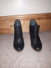 Hush Puppies ladies Shoes ankle Dark Blue Size 6 ,in excellent condition