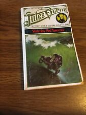 Yesterday and Tomorrow Jules Verne 1965 ARCO Paperback Fitzroy Edition