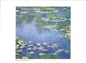 Set Of Claude Monet Prints Ready For Framing 6 In Total Great Prints FREE POST.