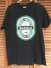 THE ORIGINAL FIGHTER HADOKEN SPECIAL MOVE. MY FIST, YOUR FACE T-SHIRT SZ M BLACK