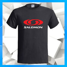 Salomon Sports Equipment Manufacturing Men's Black T-Shirt S M L Xl 2Xl
