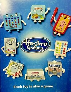 2021 McDonalds Hasbro Classic Family Games Gaming Happy Meal Toy >> PICK TOY <<