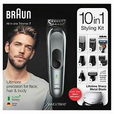 Braun 10-in-1 Trimmer Beard Trimmer Mens Body Hair Man Grooming Kit MGK7021 NEW
