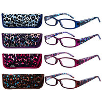 """27/"""" BLUE LEATHER VEGAN SUEDE CORD EYEGLASS HOLDER ATTACHED  LOBSTER CLASPS"""