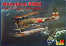 RS Models 1/72 NAKAJIMA E8N2 Japanese WWII Floatplane