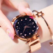 Luxury Women Starry Sky Watch Magnet Strap Buckle Wrist Watch Fashion Star Watch