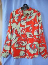 ETRO printed silk long sleeve shirt.   Made in Italy.