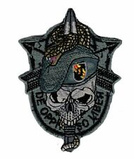 US Army Special Forces Skull Sword and Snake Hook Patch