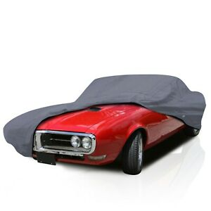 4 Layer Semi Custom Fit Water Resistant Full Car Cover for Rover P6 1963-1977