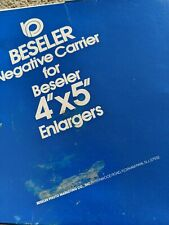 Beseler Negative Carrier  Enlargers #8336 110 Instamatic 45/CB7