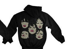 New York Dolls - Faces 2-Sided Zip Up Hoodie - SIZE LARGE - Customer Return