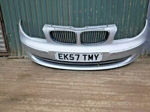 2007 BMW 1 SERIES 118D SE E87 COMPLETE FRONT BUMPER IN SLIVER