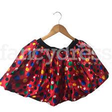 Multi Polka Dot Children In Need Pudsey Clown Tutu Satin Fancy Dress Costume NEW