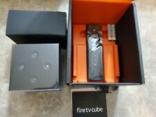 Amazon Fire TV Cube (2nd Gen remote) 4K UHD Media Streamer