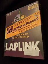 Laplink Windows NT/95 Cable, Manuals, CD-ROM  New in Unopened Box Softwear NIB