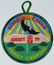 Golden Empire Council (CA) 1999 Family Camping Pocket Patch  BSA