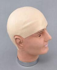 Funny Fake Bald Head Skinhead Baldy Clown Mens, Ladies Fancy Dress Wig Cap MD006