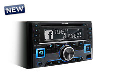 ALPINE  CDE-W296BT Autoradio 2 DIN CD-USB Bluetooth Aux-in