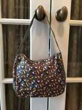 Vtg Walt Disney World Mickey Mouse Ears Army Green Hobo Bag