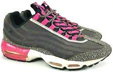 067ab35b505 Nike Air Max 95 PRM Tape Midnight Fog Pink Running Shoes Mens Sz 10.5 599425