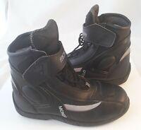 MONDELLO MODEKA - Leder Motorrad Stiefel Schuhe Boots Gr. 38 schwarz wie NEU
