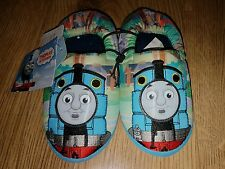 Thomas the tank engine Elasticated Slippers Size UK infant 10 New With Tags