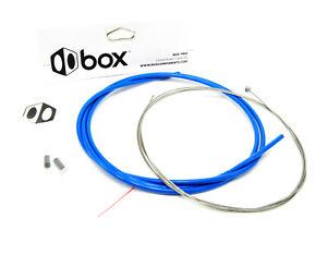 BOX TWO BMX Bike Linear Brake Housing & Cable Blue 1.6 x 2300mm